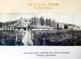 antlers park historic creede
