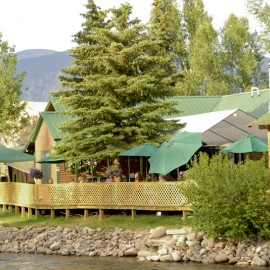 antlers restaurant in creede on rio grande river