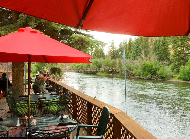Antlers Restaurant Lodge Fine Dining In Creede On Rio Grande River Riverfront