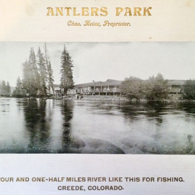 antlers park historic creede lodge